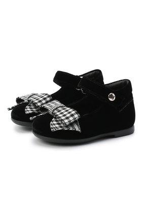 Детские туфли MISSOURI черного цвета, арт. 4394N/18-26   Фото 1