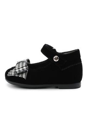 Детские туфли MISSOURI черного цвета, арт. 4394N/18-26   Фото 2