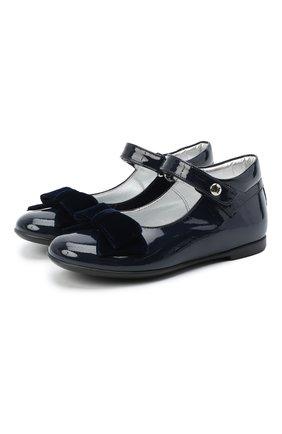 Детские туфли MISSOURI синего цвета, арт. 4394N/27-30   Фото 1