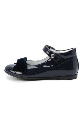 Детские туфли MISSOURI синего цвета, арт. 4394N/27-30   Фото 2