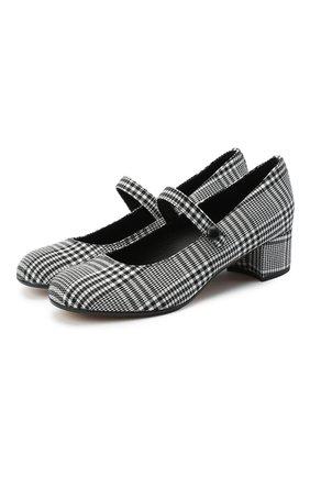 Детские туфли MISSOURI черно-белого цвета, арт. 78056M/27-30   Фото 1