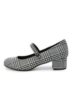 Детские туфли MISSOURI черно-белого цвета, арт. 78056M/27-30   Фото 2