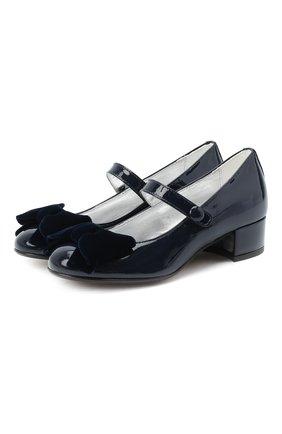 Детские туфли MISSOURI синего цвета, арт. 78061M/27-30   Фото 1