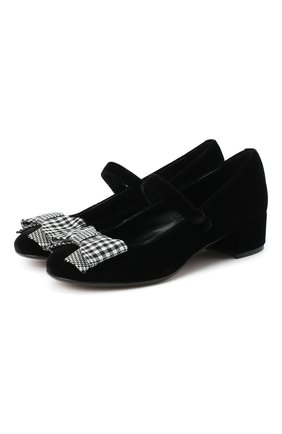 Детские туфли MISSOURI черного цвета, арт. 78061M/31-34   Фото 1