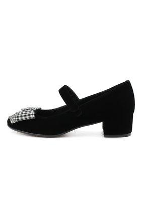 Детские туфли MISSOURI черного цвета, арт. 78061M/31-34   Фото 2