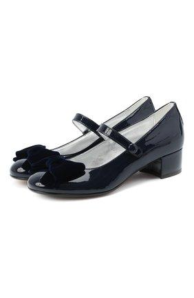 Детские туфли MISSOURI синего цвета, арт. 78061M/31-34   Фото 1