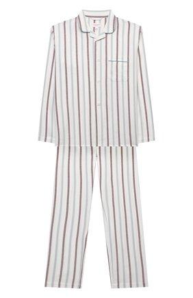 Детская хлопковая пижама DEREK ROSE разноцветного цвета, арт. 7025-KELB013/3-12 | Фото 1