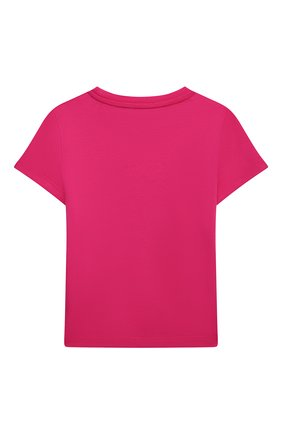 Детская хлопковая футболка VERSACE фуксия цвета, арт. YC000426/YA00079/8A-14A | Фото 2
