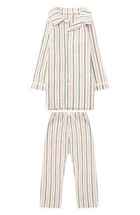 Детского игрушечная пижама для папы джинджер MAILEG бежевого цвета, арт. 17-6231-00   Фото 1