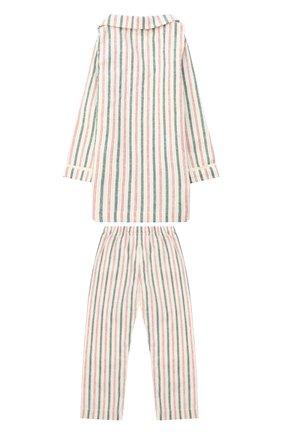 Детского игрушечная пижама для папы джинджер MAILEG бежевого цвета, арт. 17-6231-00   Фото 2