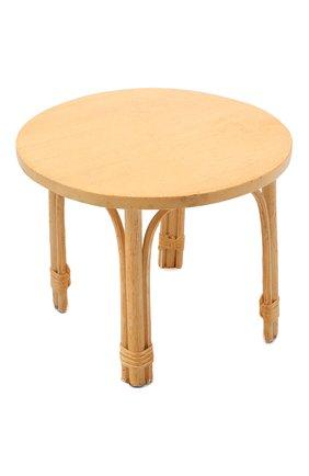 Детского игрушечный стол из ротанга MAILEG бежевого цвета, арт. 11-0007-01   Фото 1
