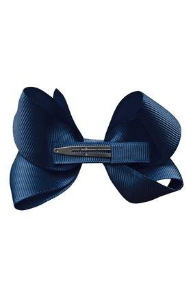Детская заколка-зажим boutique bow MILLEDEUX темно-синего цвета, арт. 370-COG-02 | Фото 2