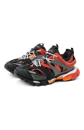 Мужские комбинированные кроссовки track BALENCIAGA красного цвета, арт. 542023/W1GC1   Фото 1