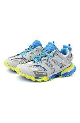 Мужские комбинированные кроссовки track BALENCIAGA серого цвета, арт. 542023/W1GC1 | Фото 1