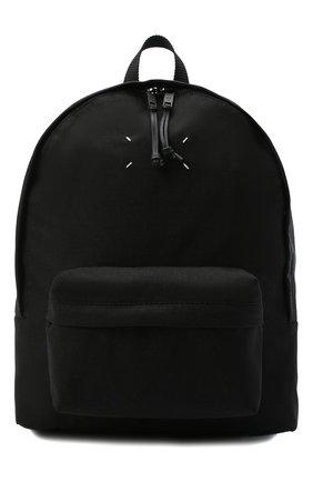 Мужской текстильный рюкзак MAISON MARGIELA черного цвета, арт. S55WA0053/PR253   Фото 1
