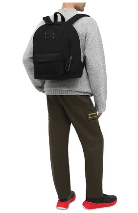 Мужской текстильный рюкзак MAISON MARGIELA черного цвета, арт. S55WA0053/PR253   Фото 2