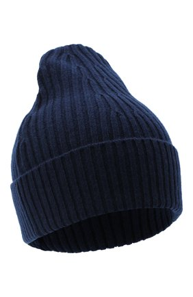 Мужская шапка из шерсти и кашемира MAISON MARGIELA темно-синего цвета, арт. S50TC0047/S17377 | Фото 1