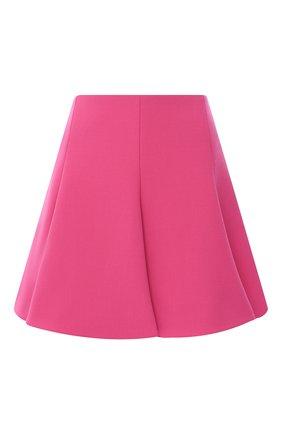 Женская юбка VALENTINO фуксия цвета, арт. UB3RA6A25JN   Фото 1
