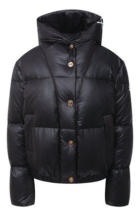 Женский пуховая куртка VERSACE черного цвета, арт. A87597/A223395 | Фото 1