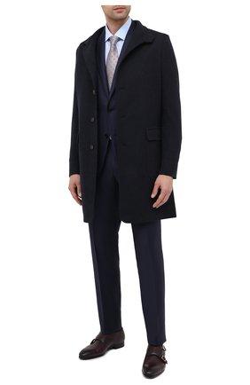 Мужские кожаные монки SANTONI бордового цвета, арт. MGSI14549SM0ICLBQ49 | Фото 2