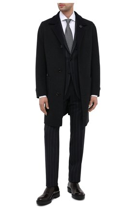 Мужские кожаные монки GIORGIO ARMANI бордового цвета, арт. X2L120/XF294 | Фото 2