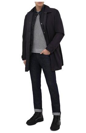 Мужские кожаные ботинки W.GIBBS черного цвета, арт. 0260005/2270 | Фото 2