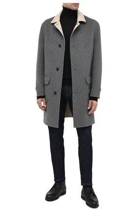 Мужские кожаные ботинки DOUCAL'S черного цвета, арт. DU2713ED0-UM019NN00 | Фото 2