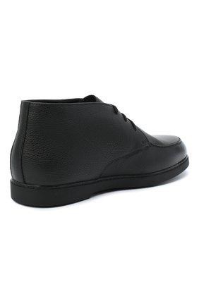 Мужские кожаные ботинки DOUCAL'S черного цвета, арт. DU2713ED0-UM019NN00 | Фото 4