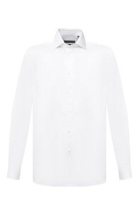 Мужская хлопковая сорочка CORNELIANI белого цвета, арт. 86P002-0811624/00 | Фото 1