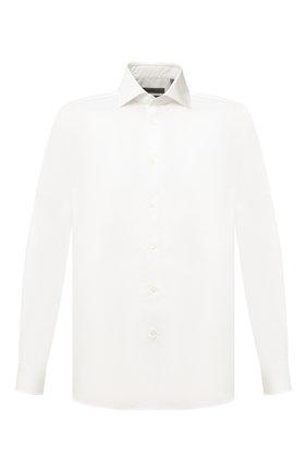 Мужская хлопковая сорочка CORNELIANI кремвого цвета, арт. 86P002-0811624/00 | Фото 1