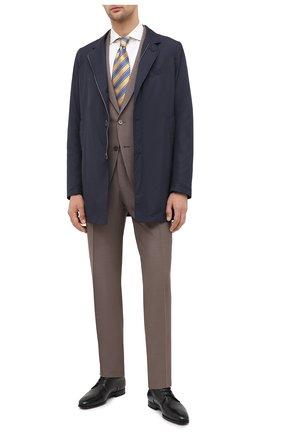 Мужская хлопковая сорочка CORNELIANI кремвого цвета, арт. 86P002-0811624/00 | Фото 2