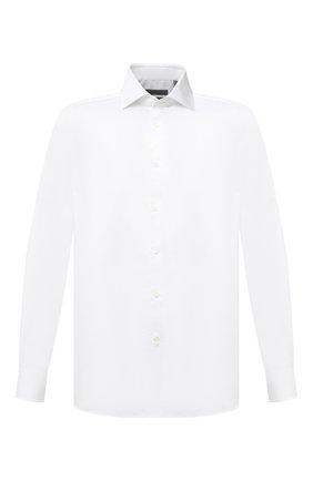 Мужская хлопковая сорочка CORNELIANI белого цвета, арт. 86P100-0811408/00 | Фото 1