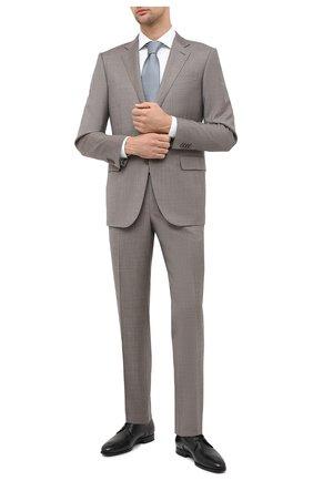 Мужская хлопковая сорочка CORNELIANI белого цвета, арт. 86P100-0811408/00 | Фото 2