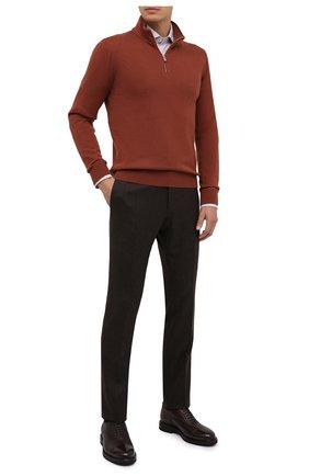 Мужская хлопковая сорочка CORNELIANI разноцветного цвета, арт. 86P100-0811441/00 | Фото 2