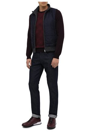 Мужские джинсы CORNELIANI темно-синего цвета, арт. 864JG2-0820139/00 | Фото 2