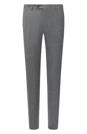 Мужские шерстяные брюки CORNELIANI темно-серого цвета, арт. 865B01-0817226/02   Фото 1