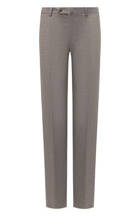 Мужские шерстяные брюки CORNELIANI бежевого цвета, арт. 865C04-0818111/02 | Фото 1