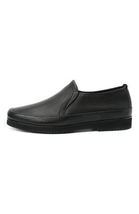 Мужские кожаные лоферы ALDO BRUE черного цвета, арт. AB8145K-MP.L.A99G | Фото 3