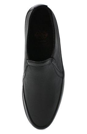 Мужские кожаные лоферы ALDO BRUE черного цвета, арт. AB8145K-MP.L.A99G | Фото 5