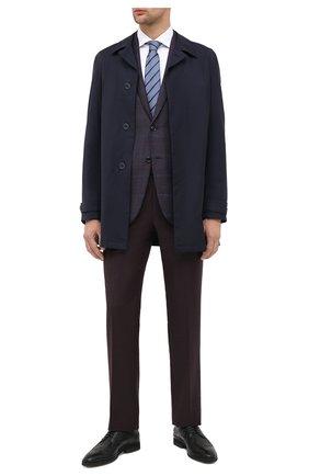 Мужской кожаные дерби ALDO BRUE черного цвета, арт. AB8622K-NMAM.L.A99T   Фото 2