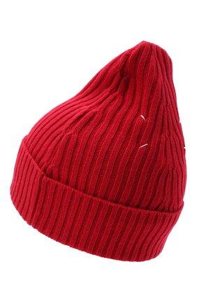 Мужская шапка из шерсти и кашемира MAISON MARGIELA красного цвета, арт. S50TC0047/S17377 | Фото 2