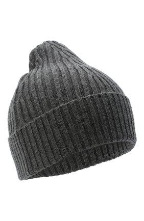 Мужская шапка из шерсти и кашемира MAISON MARGIELA темно-серого цвета, арт. S50TC0047/S17377 | Фото 1