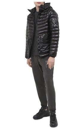 Мужская пуховая куртка C.P. COMPANY черного цвета, арт. 09CM0W065A-005791A | Фото 2