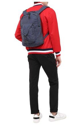 Мужской текстильный рюкзак C.P. COMPANY темно-синего цвета, арт. 09CMAC106A-005269G | Фото 2