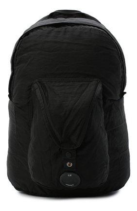 Мужской текстильный рюкзак C.P. COMPANY черного цвета, арт. 09CMAC106A-005269G | Фото 1