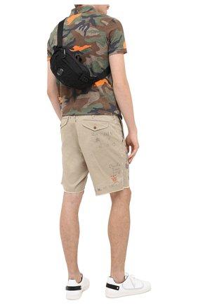 Мужская текстильная поясная сумка C.P. COMPANY черного цвета, арт. 09CMAC108A-005269G | Фото 2
