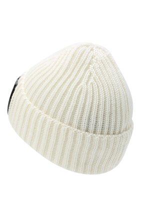 Мужская шерстяная шапка C.P. COMPANY белого цвета, арт. 09CMAC239A-005509A | Фото 2
