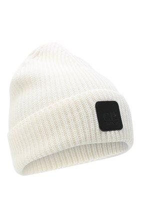 Мужская шерстяная шапка C.P. COMPANY белого цвета, арт. 09CMAC241A-005509A | Фото 1