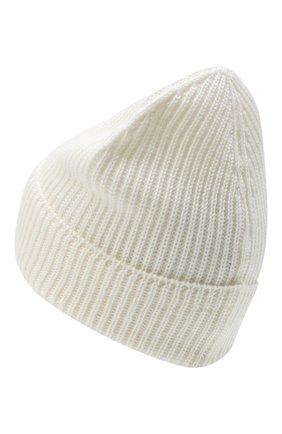 Мужская шерстяная шапка C.P. COMPANY белого цвета, арт. 09CMAC241A-005509A | Фото 2