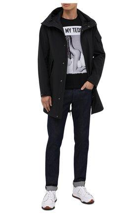 Мужская хлопковая футболка BISIBIGLIO черного цвета, арт. 0H MY TEDDY/PESANTE | Фото 2